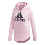 Adidas W MH BOS OH HD, ženski pulover, roza