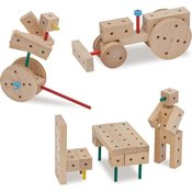Matador Komplet lesenih konstrukcij Klassik 0 od 5 let naprej-1 k.