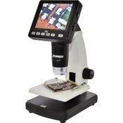 TOOLCRAFT USB mikroskop z monitorjem TOOLCRAFT 5 mil. piksov, digitalni, povečava (maks.): 500 x