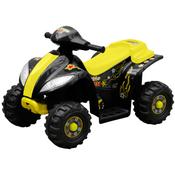 vidaXL Djecji elektricni Quad bicikl žuti i crni