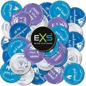EXS Cockerel - lateks prezervativi sa silikonskim lubrikantom, pakiranje s raznim natpisima