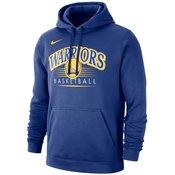 Hoodie Nike Golden State Warriors Rush Blue