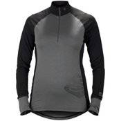 b0c91e91 Sweet Protection Alpine Halfzip 17,5/200 tehnična majica LS gray/black Gr