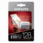 SAMSUNG spominska kartica EVO+ Micro SDHC UHS-I class10 U3 128GB + adapter