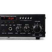 auna Amp4 BT, mini stereo pojacalo, bluetooth, daljinski upravljac, crna boja
