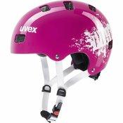 Uvex Otroška kolesarska čelada KID 3 pink dust Roza