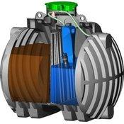 Čistilna naprava PurooElements 2-5 PE SBR ECO