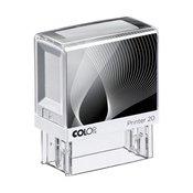 Štampiljka Colop Printer 20, belo-črno ohišje-vaš odtis v ceni (38x14mm)