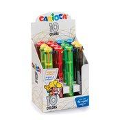 Carioca Kemični svinčnik 10 barvni 42761