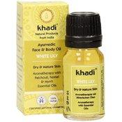 Olje za obraz in telo z belo lilijo - 10 ml