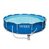 Bazen Intex 366x76cm metalni-pumpa