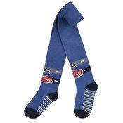 Garnamama fantovske hlačne nogavice, modre, 116–122
