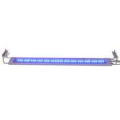 vidaXL LED Akvarijska Svetilka 80-90 cm Aluminij IP67