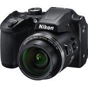 Nikon digitalni fotoaparat Coolpix B500, črn