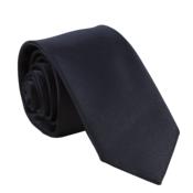 Muška jednobojna kravata Stylo crna