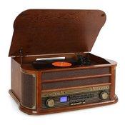 AUNA gramofon Belle Epoque 1908 Retro Vintage Stereo Vinil F