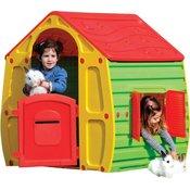 Buddy Toys hiša za igranje Magical, rdeca