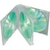 Kutija za CD/DVD medije, 4 pretinca