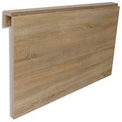 VIDAXL zložljiva stenska mizica hrast (100x60cm)