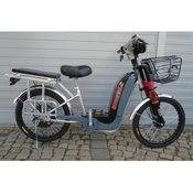 Električni bicikl Model Z-02 Crna