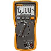 Fluke Fluke Fluke 113 digitalni multimetar LCD 6000 digits CAT III 600 V