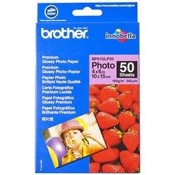 BROTHER foto papir premium Glossy A4 190gsm, 50 listov