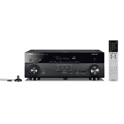 Yamaha RX-A680 , Črna 7.2 receiver za hišni kino, Musiccast Dolby Vision, DAB, DAB+