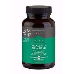 Terranova Vitamin D3 400 iu, kapsule za otroke