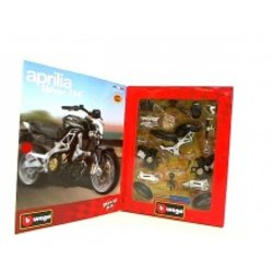 BBURAGO set za slaganje MOTOR 1/18 MOTO KIT - APRILIA SHIVER 750