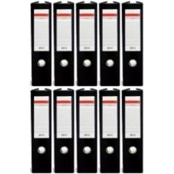 Arhivar QBO A4/75 (črna), samostojeći, 10 komada