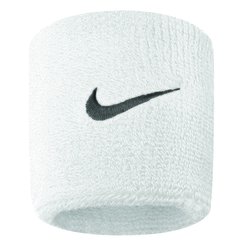 NIKE NIKE SWOOSH WRISTBANDS WHITE/BLACK AC2286-924