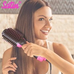 2u1: četka za sušenje i oblikovanje kose Satin®