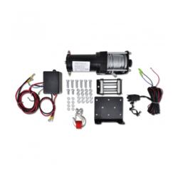 VIDAXL električno vitlo  s žičnim daljinskim upravljačem 12V 1360 kg