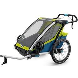 Thule sportska kolica Chariot Sport2, plavo-zelena