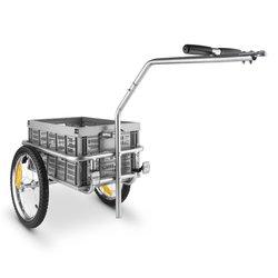 DURAMAXX prikolica za bicikl BigBig Box 10027854 siva