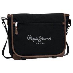 Pepe Jeans ?kolska torba / laptop torba na rame Original Oxford Black