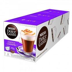 NESCAFÉ kavne kapsule Dolce Gusto Choco Caramel, trojno pakiranje