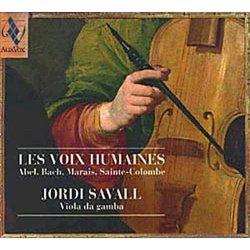 HUMAINES - JORDI SAVALL.VIOLA DA GAMBA