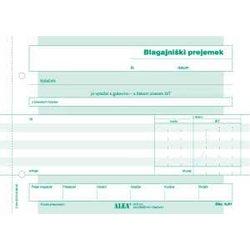 ALEA obrazec 6,61 - blagajniški prejemek A5