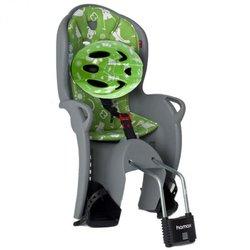 HAMAX stražnja sjedalica KISS SIVO/ZELENA + KACIGA