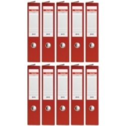 Arhivar QBO A4/75 (crvena), samostojeći, 10 komada