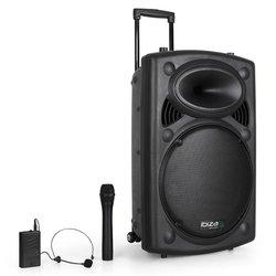 IBIZA SOUND prenosni sistem ozvočenja PORT15VHF-BT