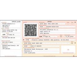 Obrazec A4 UPN QR koda (1.500 kosov)