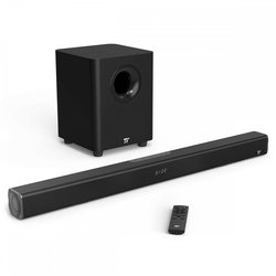 TaoTronics TV Soundbar 2.1 z brezžičnim nizkotoncem TT-SK020, 120W, črn