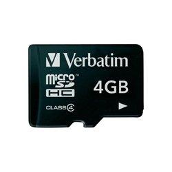 Verbatim MicroSDHC Kartica 4GB Class 4-413516