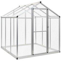 Vanjski kavez za ptice od aluminija 183 x 178 x 194 cm
