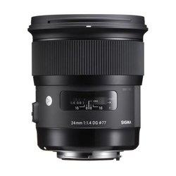 SIGMA Art 24/1.4 DG HSM Canon, objektiv