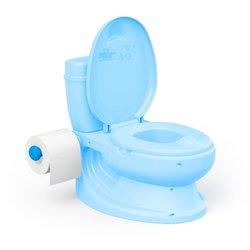 Dolu Noćna posuda WC školjka sa zvukom, Plava
