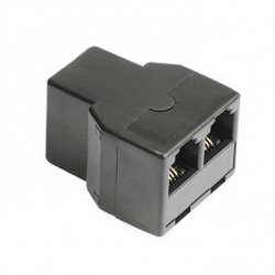 HAMA Adapter modularni ženski 6p4c na 2x ženski 6p4c