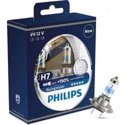 PHILIPS par žarnic H7 Racing Vision